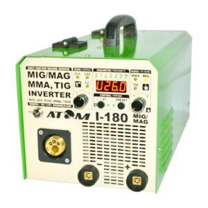 Зварювальний інверторний напівавтомат Атом I-180 MIG/MAG