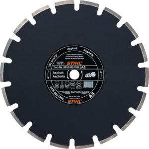 STIHL (08350807003) Алмазний відрізний диск по асфальту А 40 Ø350х3,0 мм