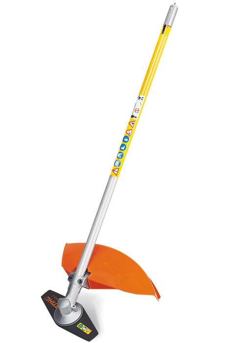 FS-KM GSB-2, Комбі-насадка — мотокоса з ріжучим полотном для трави, 2 леза FS-KM GSB 230-2
