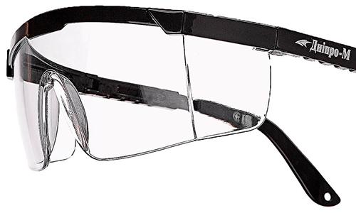 Захисні окуляри Дніпро-М Master прозорі ⋆ Магазин Ліс і Сад f52d775636853