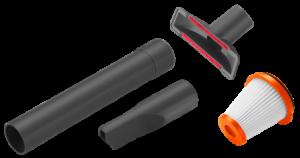 Комплект аксесуарів для акумуляторного мініпилососа EasyClean GARDENA (9343-20)