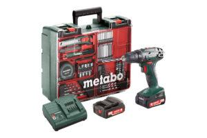 Акумуляторний дриль-шуруповерт METABO BS 14.4 Set (602206880)