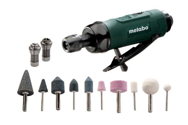 Пневматична прямошліфувальна машина METABO DG 25 Set (604116500)