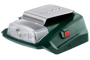 Акумуляторний силовий адаптер Metabo PA 14.4-18 LED-USB (600288000)