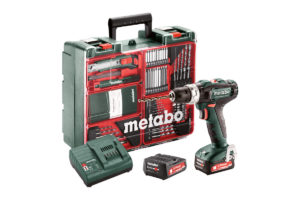 Акумуляторний ударний дриль METABO PowerMaxx SB 12 Set (601076870)