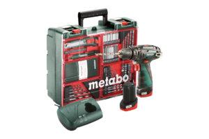 Акумуляторний ударний дриль METABO PowerMaxx SB Basic Set (600385870)