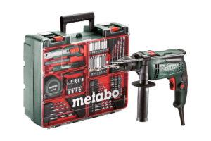 Дриль ударний METABO SBE 650 Set (600671870)