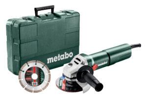 Кутова шліфувальна машина METABO W 1100-125 Set (603614510)