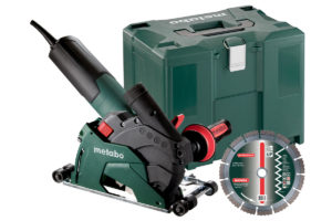 БЕТОНОРІЗ METABO W 12-125 HD Set CED Plus (600408510)