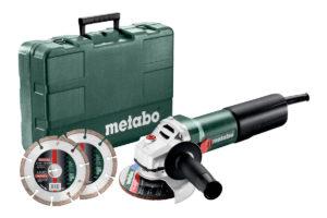 Кутова шліфувальна машина електрична METABO WEQ 1400-125 Set