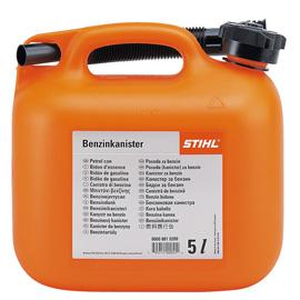 Каністра для бензину 5л, оранжева