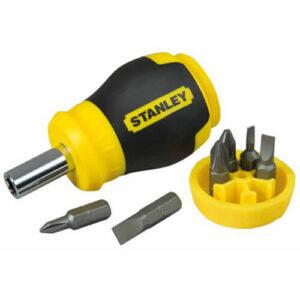 Викрутка — набір Multibit Stubby з шістьма змінними бітами STANLEY 0-66-357 STANLEY