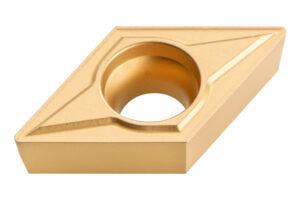 10 твердосплавних поворотних різальних пластин, фаска 45°, ISO DCMT 11 T 304 (623560000)METABO