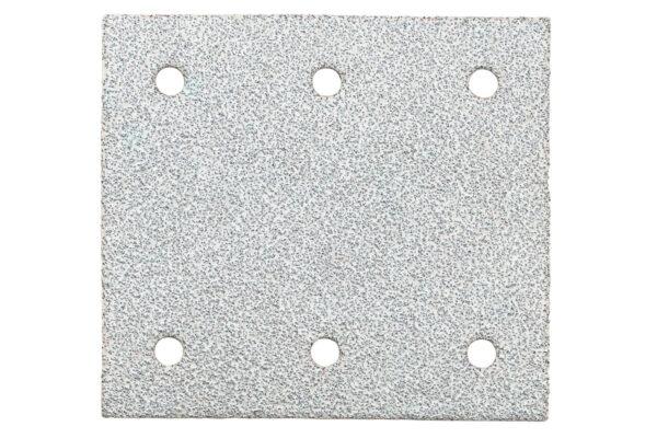 10 шліфувальних листів Metabo на липучках 115×103 мм, P 180, фарба, SR (625644000)