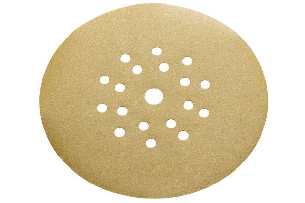 25 шліфувальних дисків Metabo на липучці, 225 мм, P 120, шпаклівка, довга шийка (626645000)