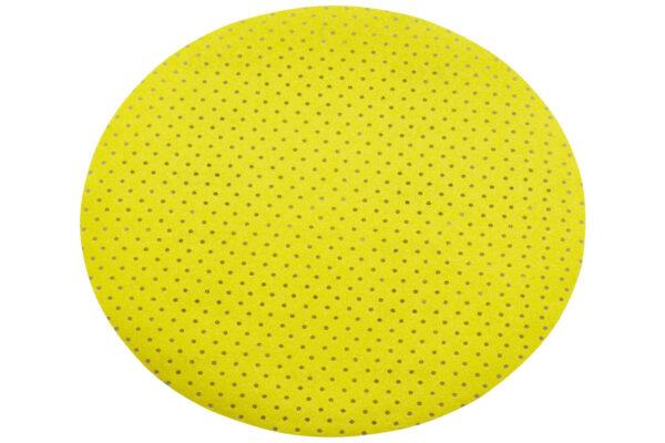 25 шліфувальних дисків Metabo на липучці, 225 мм, P 100, мультиперфорація, довга шийка (626652000)