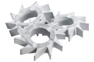 10 фрезерних зірочок з плоскими зубцями, RFEV 19–125 RT (628271000)METABO