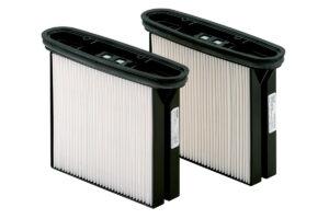 2 фільтрувальні касети HEPA, поліестер, клас пилу H (HEPA 14) (630326000)METABO
