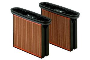 2 фільтрувальні касети, целюлоза, клас пилу М (631933000)METABO