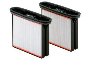 2 фільтрувальні касети, поліестер, клас пилу М (631934000)METABO