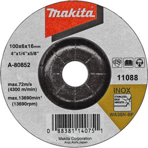 Диск 2 в 1 шліфувальний та відрізний по металу 100х3,2 36Т