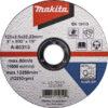 Відрізний диск по металу 115х3 30S, вигнутий MAKITA D-18568
