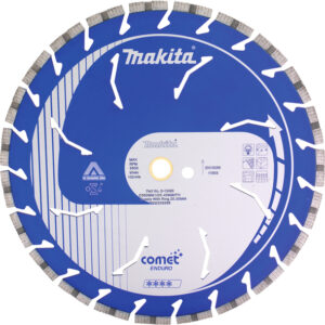 Алмазний диск COMET по бетону сегмент 350х25,4(20) мм сух/мокр MAKITA B-13552