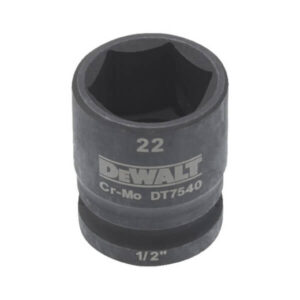 Головка торцева ударна IMPACT 1/2, 22 мм DeWALT DT7540 DeWALT