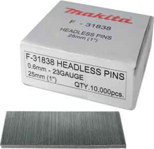 Оздоблювальні цвяхи без шляпки 18 мм (10000 шт.) MAKITA F-32142