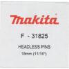 Оздоблювальні цвяхи без шляпки 30 мм (10000 шт.) MAKITA F-32168