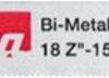 Набір пилок BiM по металу для ножівки 150 мм (5 шт.) MAKITA P-04880