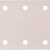 Набір білого шліфувального паперу 114х102 мм К100 6 отворів (10 шт.) MAKITA P-35835