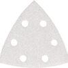 Набір білого трикутного шліфувального паперу 94х94х94 мм К180 6 отворів (10 шт.) MAKITA P-42743