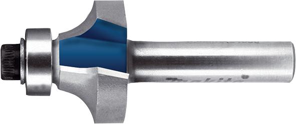 Фреза для заокруглення кутів з підшипниками Т.С.Т. R8 мм хвостовик 8 мм MAKITA P-78891