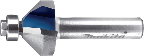 Фреза для зняття фасок з підшипниковою направляючою Т.С.Т. 45° 22 мм хвостовик 8 мм MAKITA P-79083