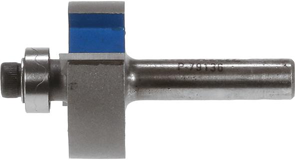 Фреза для прорізання заглиблень з набором підшипників Т.С.Т. 32 мм хвостовик 8 мм MAKITA P-79136