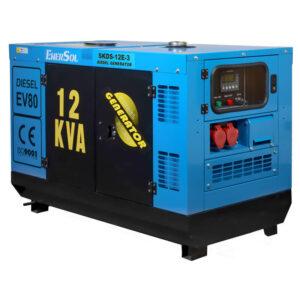 Генератор дизельний EnerSol SKDS-12E-3B EnerSol