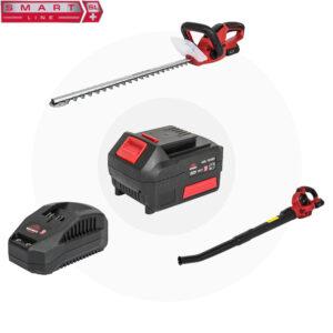 Комплект Vitals SmartLine Кущоріз+Повітродуходувка+АКБ+ЗП Vitals