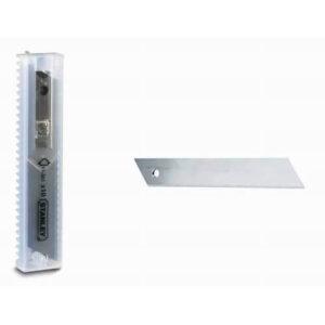 Леза запасні шириною 9 мм з сегментами, що відламуються для ножів з висувними лезами, 10 штук STANLEY 0-11-300 STANLEY