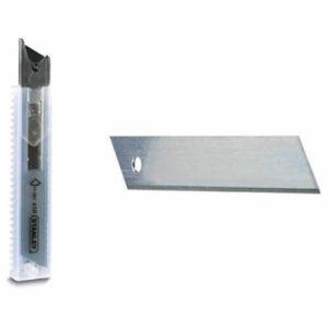Леза запасні шириною 18 мм з сегментами, що відламуються для ножів з висувними лезами, 10 штук STANLEY 0-11-301 STANLEY
