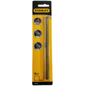 Пилки запасні для ручного лобзика FatMax довжиною 160мм, 15 зубів на дюйм, 4 штуки STANLEY 0-15-061