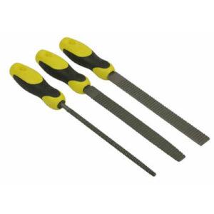 Набір з трьох рашпілів з драчовой рискою довжиною 200 мм STANLEY 0-22-477 STANLEY