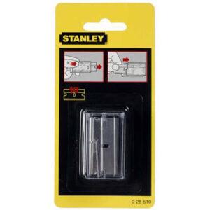 Лезо запасне довжиною 40 мм до шкребка по склі 0-28-500, 10 штук STANLEY 0-28-510 STANLEY