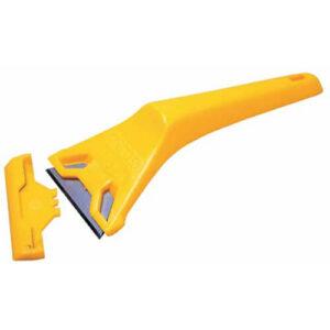 Скребок для шибок пластмасовий зі стандартними лезами шириною 60 мм STANLEY 0-28-590