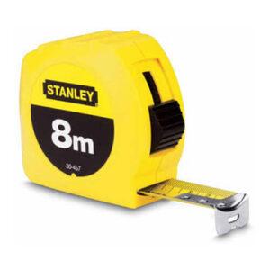 Рулетка вимірювальна GLOBAL TAPE довжиною 8 м, шириною 25 мм, в пластмасовому корпусі STANLEY 0-30-457