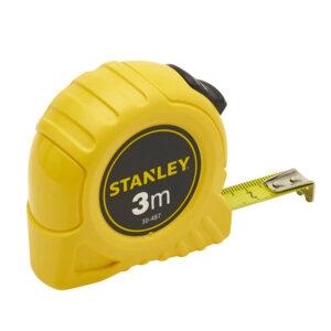 Рулетка вимірювальна GLOBAL TAPE довжиною 3 м, шириною 12,7 мм, в пластмасовому корпусі STANLEY 0-30-487