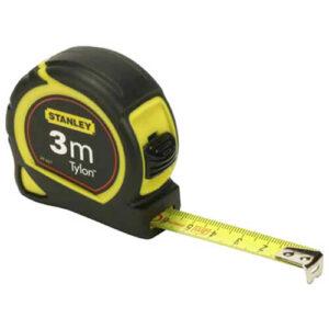 Рулетка вимірювальна Tylon ™ довжиною 3 м, шириною 12.7 мм, в пластмасовому корпусі STANLEY 0-30-687