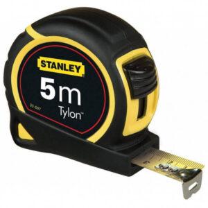 Рулетка вимірювальна Tylon ™ довжиною 5 м, шириною 19 мм, в пластмасовому корпусі STANLEY 0-30-697
