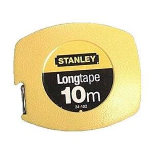 Рулетка вимірювальна Longtapeдліной 10 м, шириною 9.5 мм, в пластмасовому корпусі STANLEY 0-34-102