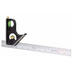 Косинець комбінований довжина лінійки 300 мм STANLEY 0-46-151 STANLEY